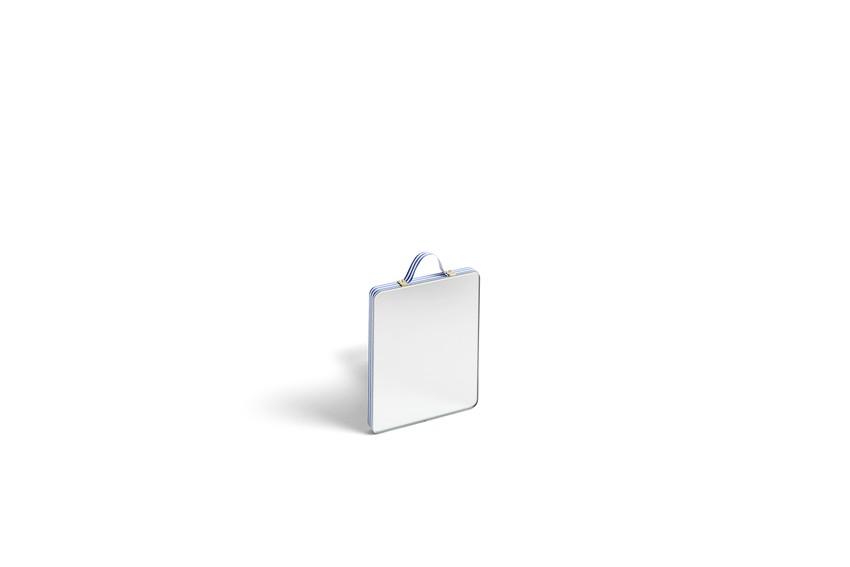 HAY | RUBAN / 織帶裝飾掛鏡 (Size:S / 藍)