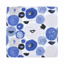 芬蘭Kauniste純棉手帕/包巾 (紫色星期天)