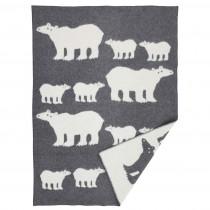 BENGT & LOTTA 大型羊毛毯 (北極熊)