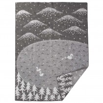 Minä perhonen 聯名大型羊毛毯 (山谷中的天鵝湖)