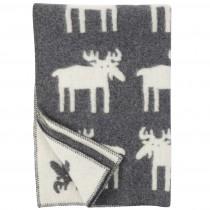Klippan Yllefabrik x BENGT & LOTTA 中型羊毛毯 (北歐駝鹿)