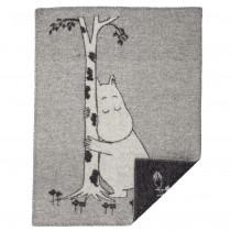Klippan Yllefabrik 小型羊毛毯 (moomin love)