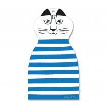 Lisa Larson Mimi貓造型砧板/餐墊 (藍)