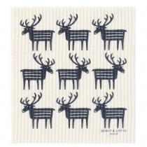 駝鹿海綿擦布