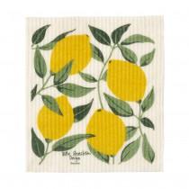 檸檬樹海綿擦布