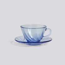 HAY |  French coffee cup w/ saucer / 法國製咖啡杯 (Blue / 藍)