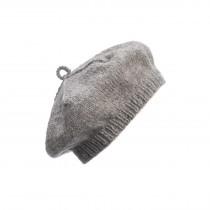 芬蘭 MYSSYFARMI BERET成人手工羊毛貝雷帽 (淺灰)