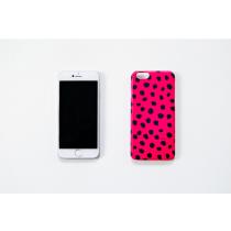 韓國Mystuff duboo桃紅水玉IPhone 6 & 6S手機殼