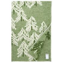 芬蘭Lapuan Kankurit KUUSI 羊毛毯 (綠)