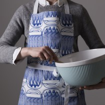英國Thornback & Peel100%純棉圍裙 (藍色沙丁魚)