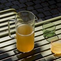HAY |  GLASS JUG M - 1 L 1 L CLEAR / 透明玻璃水壺 (1L)