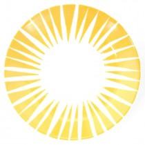 瑞典House of Rym 創意混搭淺盤 (黃色光芒)