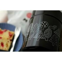 Matsuo Miyuki黑色松鼠森林儲物罐