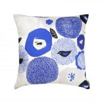 芬蘭Kauniste棉麻抱枕套 (紫色星期天)