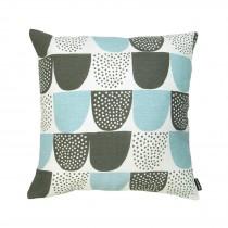 芬蘭Kauniste棉麻抱枕套 (藍色砂糖)