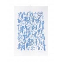 芬蘭Kauniste棉麻擦巾 (森林深處)