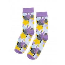芬蘭Kauniste印花棉襪 (異國之境)