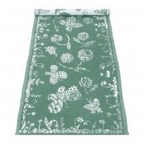 :預購:芬蘭Lapuan Kankurit AAMOS棉麻長桌巾 (綠)