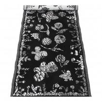 芬蘭Lapuan Kankurit AAMOS棉麻長桌巾 (黑)