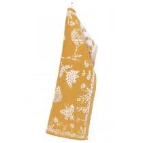 芬蘭Lapuan Kankurit AAMOS棉麻萬用巾 (黃)