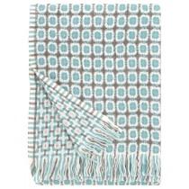 芬蘭Lapuan Kankurit CORONA羊毛毯 (土耳其藍)
