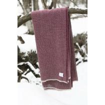 芬蘭Lapuan Kankurit KOLI 美麗諾羊毛毯 (波爾多紅)
