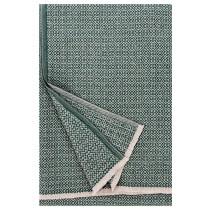 芬蘭Lapuan Kankurit KOLI 美麗諾羊毛毯 (墨綠)