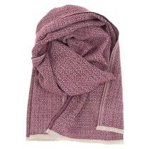 芬蘭Lapuan Kankurit KOLI 美麗諾羊毛圍巾 (波爾多紅)