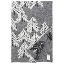 芬蘭Lapuan Kankurit KUUSI 羊毛毯 (灰)