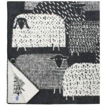 芬蘭Lapuan Kankurit PÄKÄPÄÄT羊毛毯 (黑)