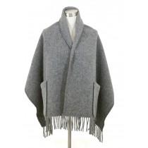 芬蘭Lapuan Kankurit UNI 單色羊毛口袋披肩