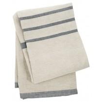 芬蘭Lapuan Kankurit USVA亞麻薄毯/桌巾 (灰)