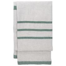 芬蘭Lapuan Kankurit USVA亞麻薄毯/桌巾 (白楊綠)