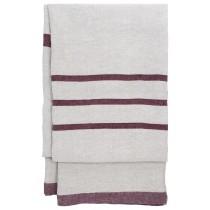 芬蘭Lapuan Kankurit USVA亞麻薄毯/桌巾 (波爾多紅)