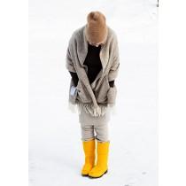 芬蘭Lapuan Kankurit MARIA 羊毛口袋披肩