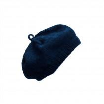 芬蘭 MYSSYFARMI BERET成人手工羊毛貝雷帽 (深藍)