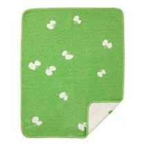 Minä perhonen 聯名choucho有機綿絨蓋毯 (綠色)